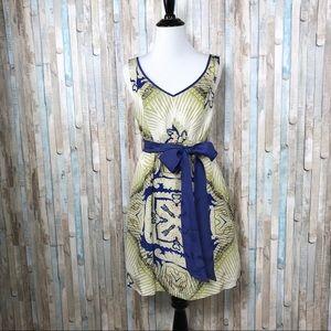 Anthropologie XS Paisley Silk Kerchief Tank Dress